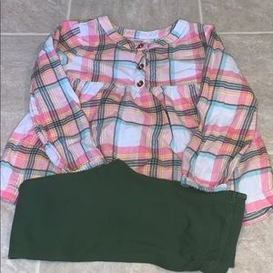 Carter's Baby Girl 2pc Outfit